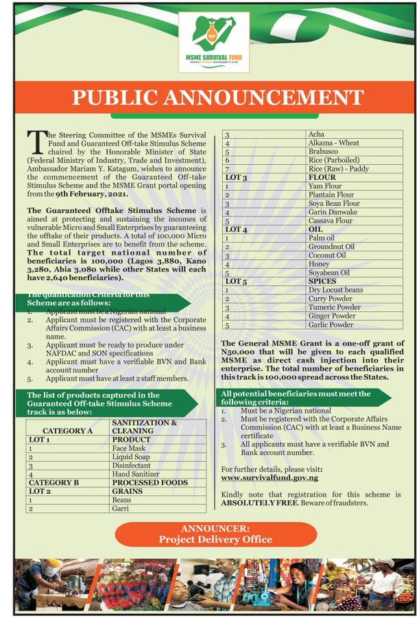 NAFDAC REGISTRATION NAFDAC 2021 UPDATE