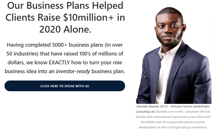 how to write a business plan - Sam&Wright Consulting